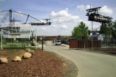 Eingangstor zum Bergbau-Technik-Park